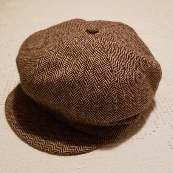 Levi s Accessories - Levi s Tweed Pageboy Newsboy Cap ... 9e3ff9e9001